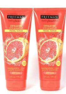 2 Freeman Feeling Beautiful™ Exfoliating Grapefruit Deep Clean Facial Scrub 6 oz