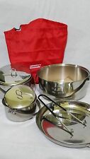 COLEMAN CAMP COOK SET - STAINLESS STEEL - HARD TO FIND
