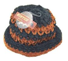 Ladies Winter Chic Slouchy Ribbed Crochet Knit Beret Beanie Hat