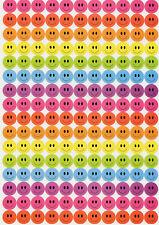 36 Glitterati Foam Star Stickers Multi 3 D Effect varying sizes from 23-50mm
