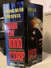 2007 Mezzo Living Dead Dolls House of 1000 Corpses Otis and Cindy Doll Set New