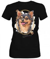 Las señoras camisa CHIHUAHUA firma perros el tema por SIVIWONDER