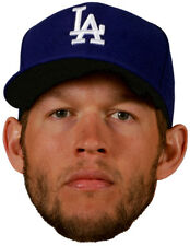 Los Angeles Dodgers CLAYTON KERSHAW All Star Pitcher -Full Head WindoCling Decal