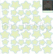 Glow Stickers Cute Stars Glow In The Dark Stickers Carton Stars