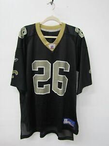 Reebok NFL Equipment New Orleans Saints Deuce McAllister #26 Jersey Size XL