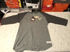 Pittsburgh Penguins Mitchell & Ness Raglan Sz XL