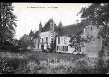 LE NOYER (18) Façade du CHATEAU de BOUCARD vers 1920-1930