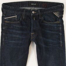 Herren Replay M983 Waitom Regular Slim Blue Jeans W32 L34