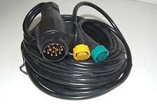 5m Anhänger Kabelsatz 13polig Stecker Elektrik Kabelstrang Beleuchtung Kabelbaum
