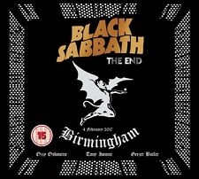 BLACK SABBATH - THE END (LIVE IN BIRMINGHAM,DVD+CD)   DVD+CD NEU