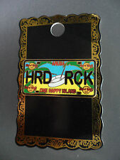 Hard Rock Cafe ARUBA - License Plate - One Happy Island HRC Series Pin on card