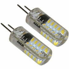2-Pack G8 Bi-Pin 40 LED Light Bulb SMD 3014 for GE Over the Stove Microwave Oven