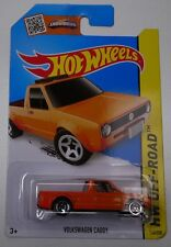 2015 HOT WHEELS / Volkswagen Caddy (Orange) - Mint on long card.