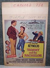 TAMMY AND THE BACHELOR original 1957 movie poster DEBBIE REYNOLDS/LESLIE NIELSEN