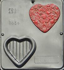 Heart Box Chocolate Candy Mold Valentine  3056 NEW