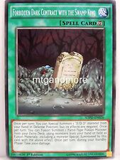 YU-GI-OH - 3x Forbidden DARK contract with the swam King-sdpd-Pendulum Domin