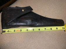 Us Indian Wars Period Leather Flap Holster Original