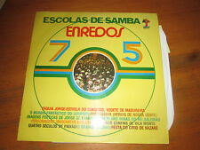 ESCOLAS DE SAMBA ENREDOS 75 Brazilian Music LP Record