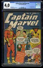 Captain Marvel Adventures #9 CGC VG 4.0 Off White