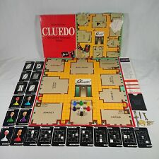 Vintage Cluedo Board Game Classic 100% Complete By Waddingtons 1972