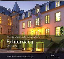 NEW !!! Euro LUSSEMBURGO 2015 in Folder Ufficiale 9 monete FDC NEW !!!