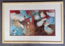 SPANISH ARTIST ALVAR SUNOL signed LITHOGRAPH limited edition