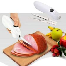 Kitchen Tools- Electric Easy One Touch Cordless Knife Battery Cut Meat Bread HOT