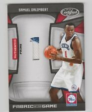 Samuel Dalembert 76ers 2009-2010 Certified Fabric Of The Game #FOG-SD 7/25