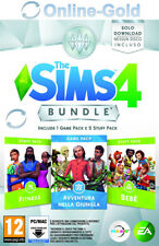 The Sims 4 Bundle Pack 11: Avventura nella Giungla+Bebè Stuff+Fitness Stuff- ITA
