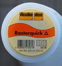 Meterware Rasterquick dreieckig  Freudenberg Näheinlage Vlieseinlage Vlieseline