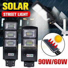 99000LM Auto Solar LED Street Light Commercial Outdoor Area Security Road Lamp