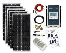 500w Solar Panel Kit 24V MPPT controller battery charging cables brackets K4