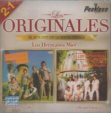 CD - Los Hermanos Mier NEW 2 En 1 Los Originales Peerless FAST SHIPPING !