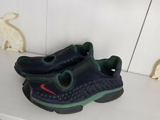 Nike Air Rift Trainers Black Varsity Red Forest Green UK 5.5 US 6 Collector 2002