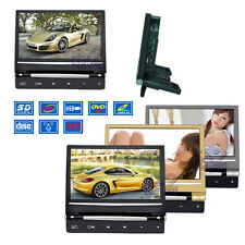"9"" In Car Headrest HD Monitor DVD Player Game Controller Charger MP4 SD USB FM"