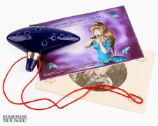 Legend of Zelda Ocarina Of Time 12 Hole Ocarina with 2 Songbooks!