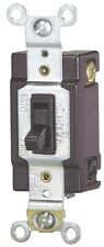 NEW COOPER USA 1242-7B-BOX BROWN 15 AMP QUIET 4 WAY TOGGLE SWITCH 6569305