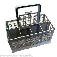Panier à couverts universel tous les lave vaisselle modèle gris poignée amovible