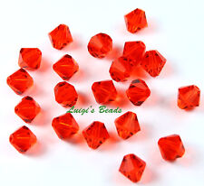 20 Hyacinth Swarovski #5301 Crystal Bicone Beads 6mm