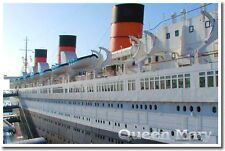 Queen Mary Cruise Ship -  Travel Print NEW POSTER