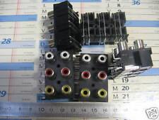 Lot de 5 RCA 3x2 Comatech à piquer sur Circuit Imprimé
