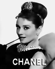 Audrey Hepburn Loves Chanel #10 Pop Art Canvas 16 x 20   # 1106