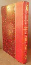 Octave UZANNE - Le LIVRE Bibliographie rétrospective 9e année 1888 1/2 maroquin