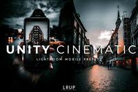 Unity Cinematic, 4 Premium Lightroom Mobile Presets