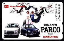 Phone card Japan NTT Cars 110-016 E /12 Daihatsu Mira & Opti