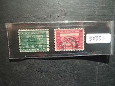 USA 1913 Panama-Esposizione del Pacifico (2 V) (SG 423-424) Usato