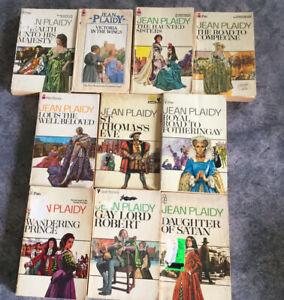 Jean Plaidy - Lot Of 10 Historical Novels