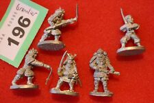 Grenadier Samurai Job Lot Wargames Fantasy Dungeons Classic Metal Figures ADD