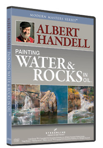 ALBERT HANDELL: PAINTING WATER & ROCKS IN OIL - Art Instruction DVD