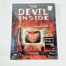 THE DEVIL INSIDE PC CD-Rom English Version - Sealed Unopened Grimes Game Big Box